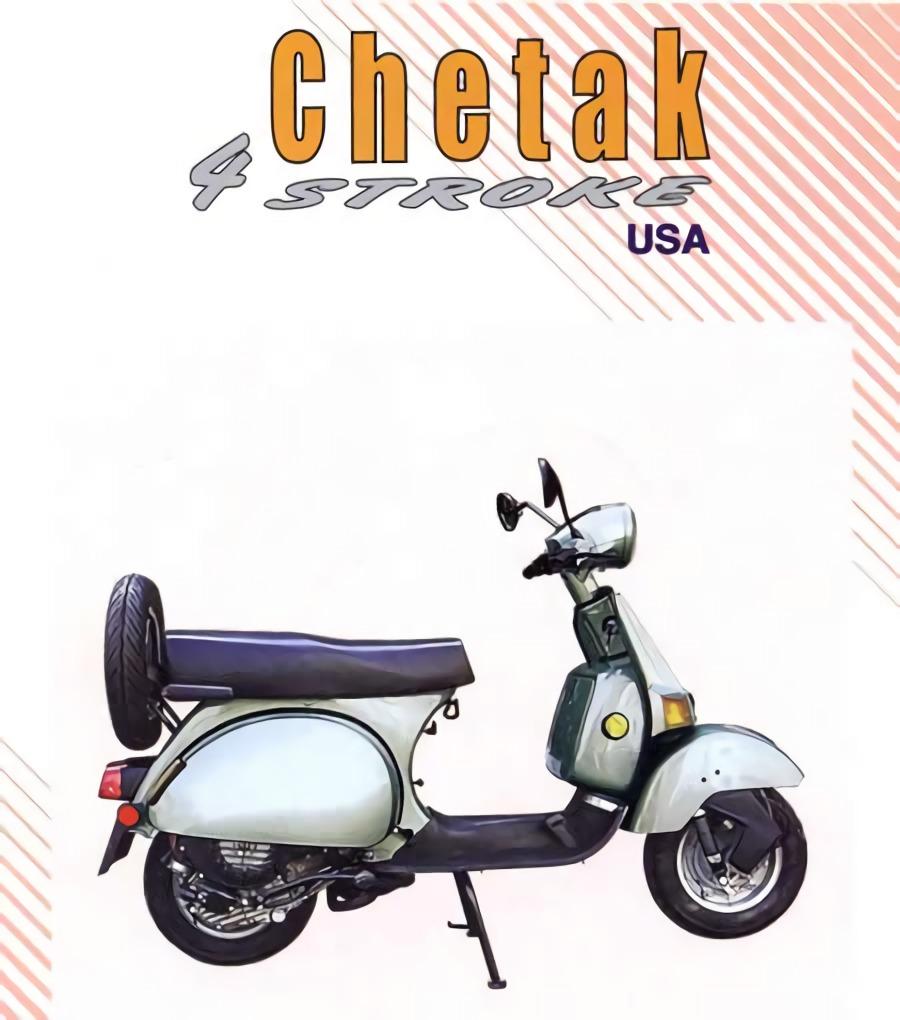Manual de servicio de la Bajaj chetak 4 tiempos