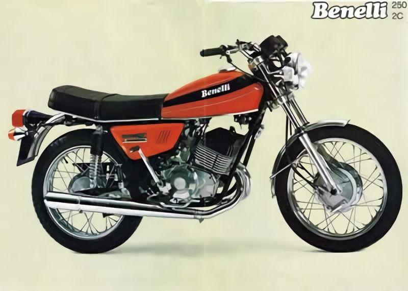 Manual despiece Benelli 250 2c